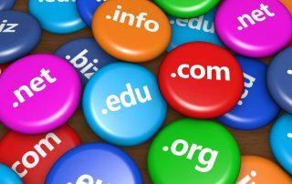 Hva er ett domene, topp-domene, sub-domene?