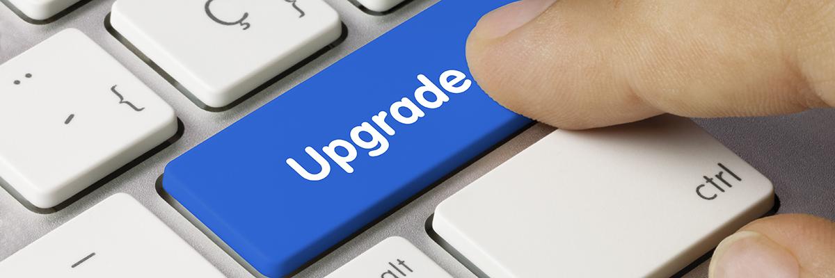 Oppgrader webhotell